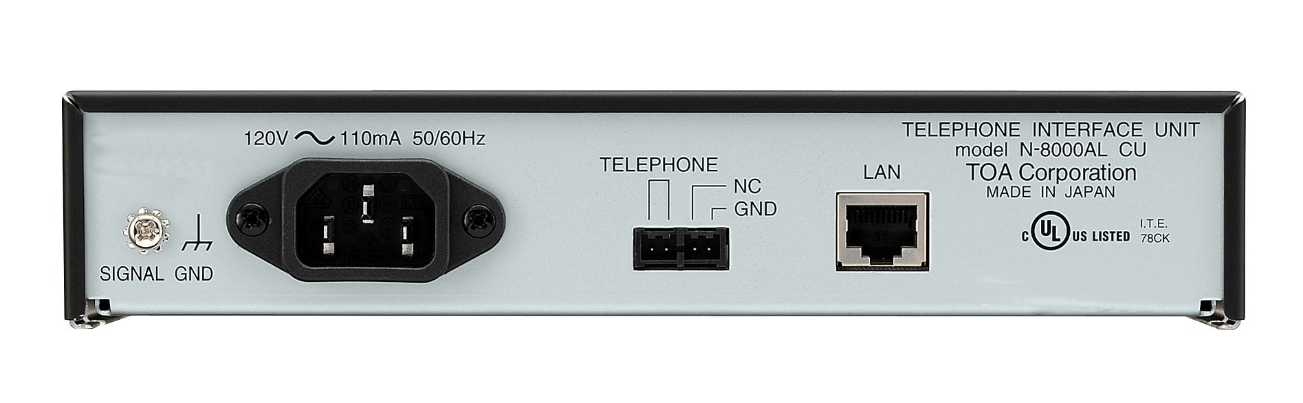 N 8000al Ce Produits Toa Electronics